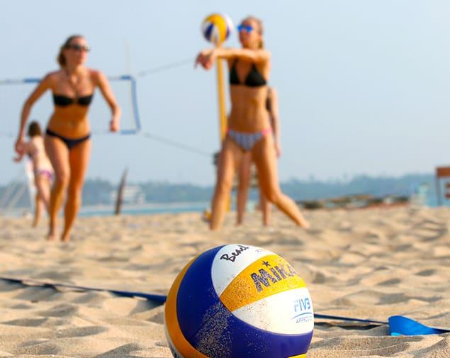 Beach Volleyball in Sri Lanka