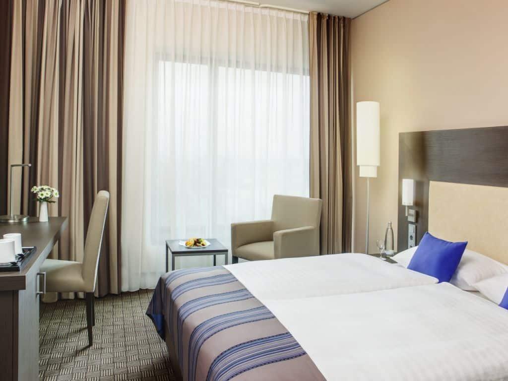 Zimmer im Beachvolleyball WM-Hotel